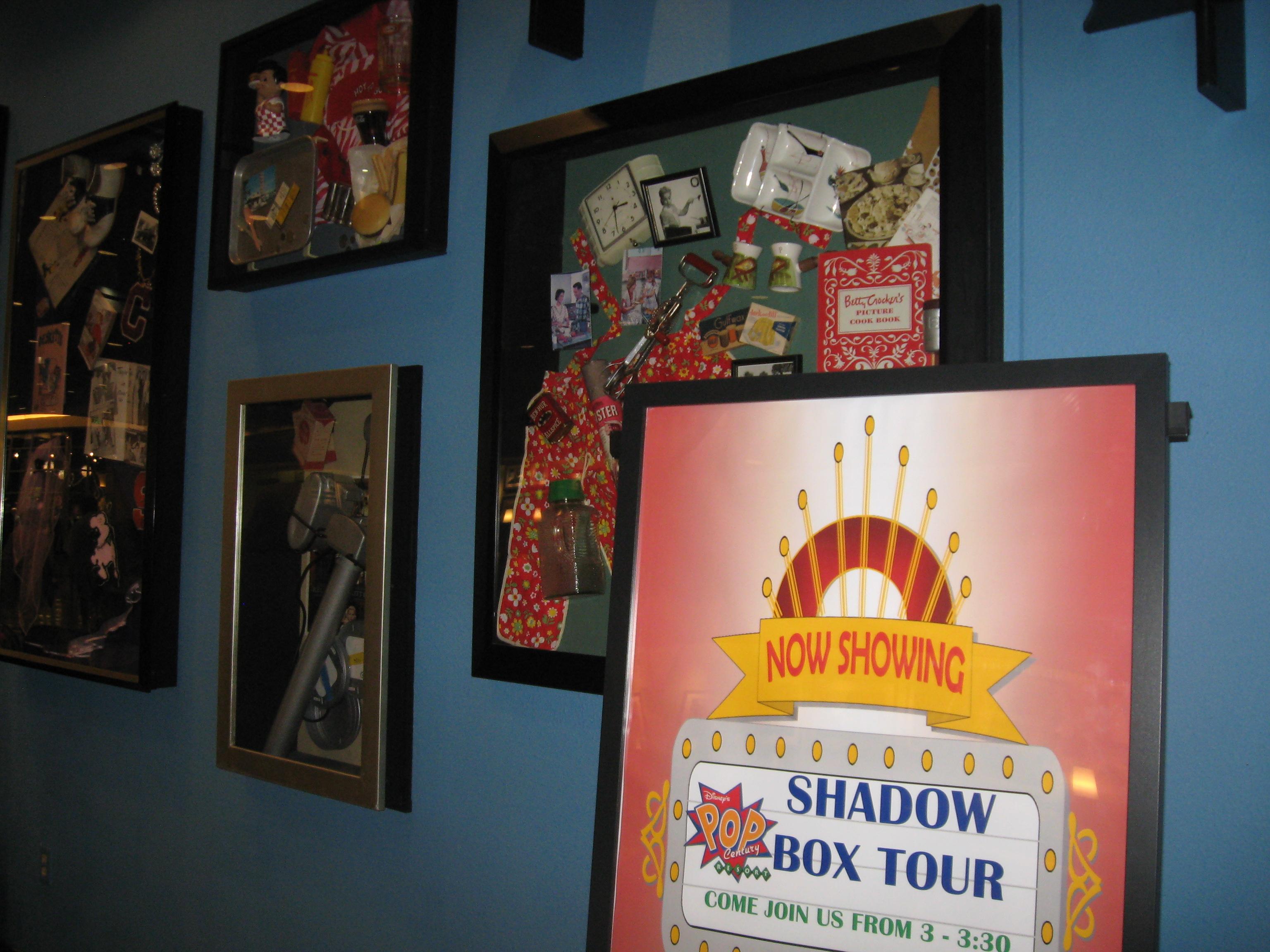 Shadow Box Tour Disney Vacation Education