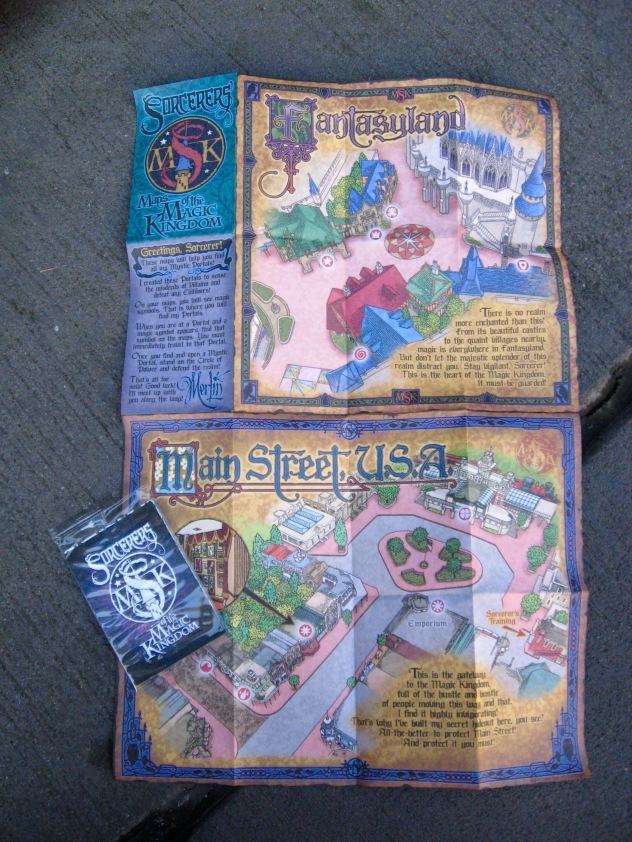 Grab a Map and a pack of Spell Cards and start saving the Magic Kingdom!